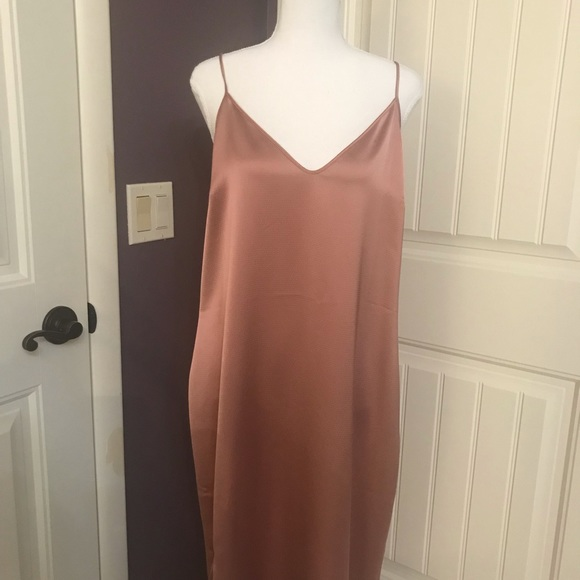 Trouve Dresses & Skirts - Trouve slip dress, NWT